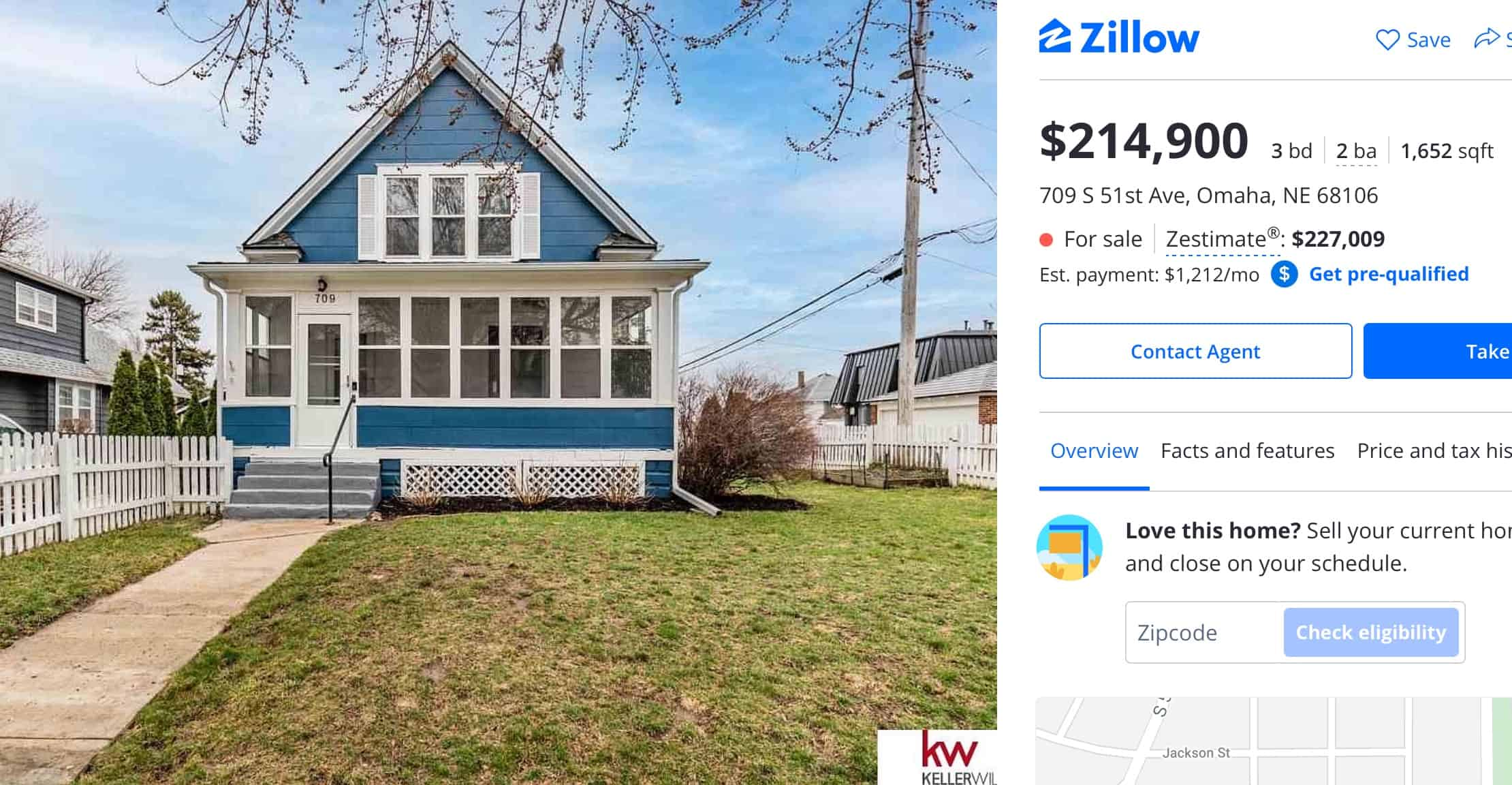 An inexpensive house in Omaha