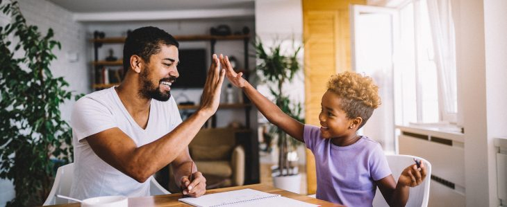 Creating a household budget can help you reduce the financial uncertainty of the stay-at-home lifestyle.