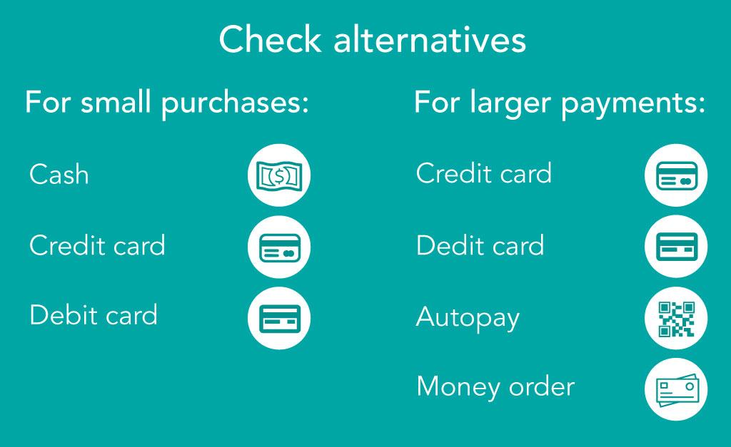 Check alternatives