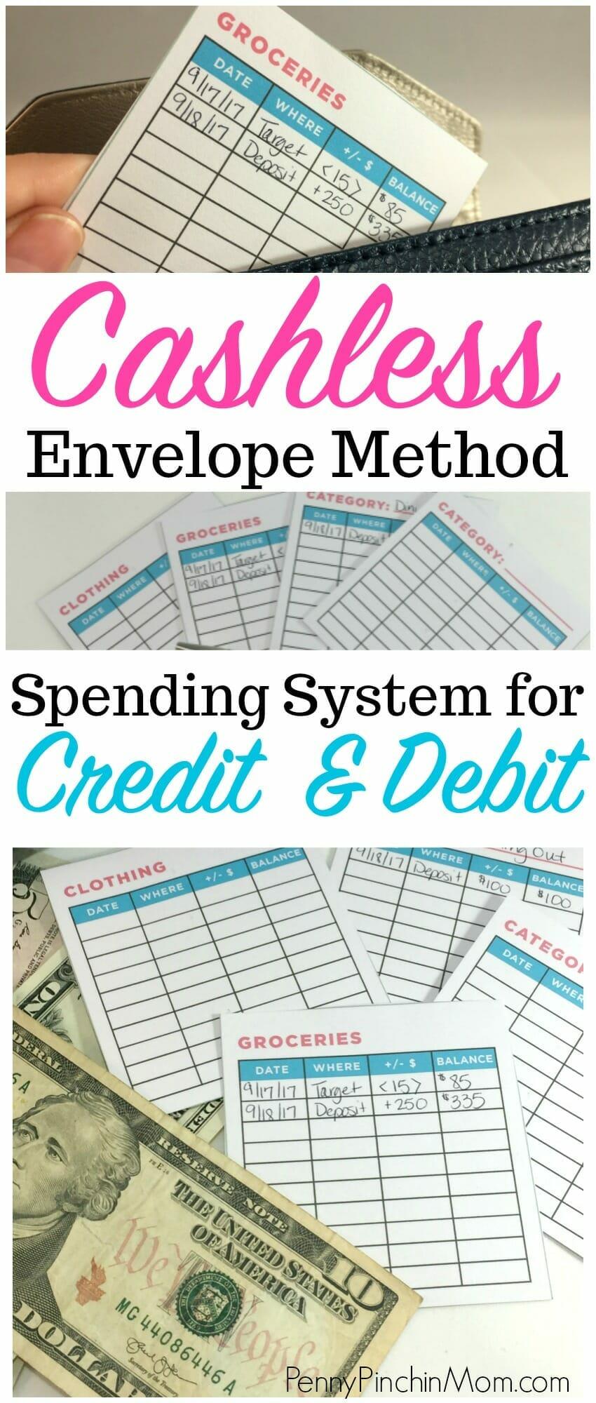 cashless envelope system